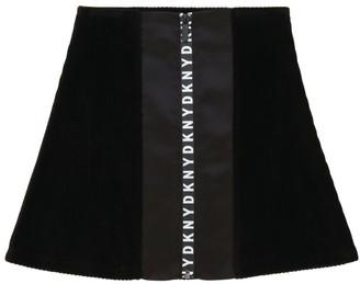 DKNY Logo Zip Skirt (6-16 Years)