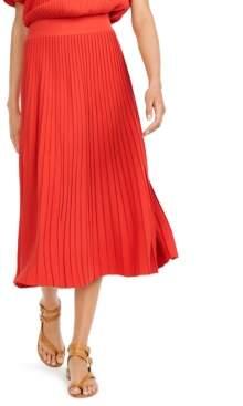 Max Mara Pleated Midi Skirt