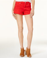 Lucky Brand The Hr Shortie Ripped Denim Shorts