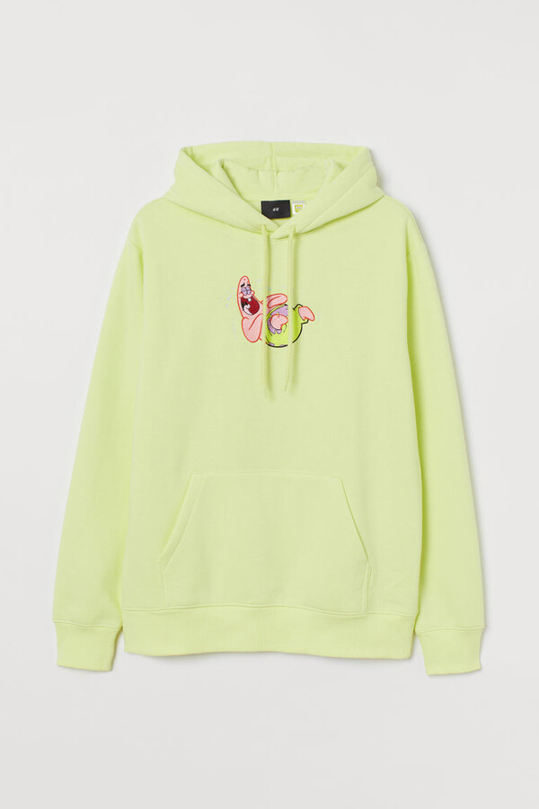 Thumbnail for your product : H&M Regular Fit Hoodie - Yellow
