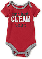 Baby Starters Baby Boys 3-12 Months My Last Clean Shirt Short-Sleeve Bodysuit