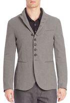 John Varvatos Slim-Fit Convertible Jacket