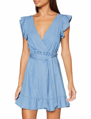 Only Women's ONLJOSIE Cap Sleeve Dress WVN