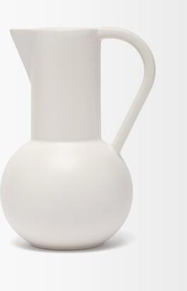 Raawii - Strm Large Ceramic Jug - Light Grey