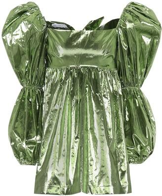 REJINA PYO Kayla metallic top