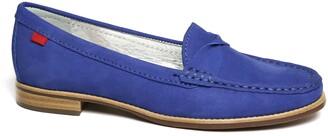 Marc Joseph New York Studio Lane Croc Embossed Loafer