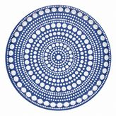 Iittala Kastehelmi 14-Inch Round Tray in Ultramarine Blue