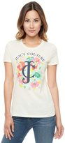 Logo Trop Couture Floral Short Sleeve Tee