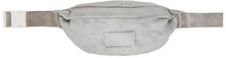 Maison Margiela Grey Faux-Suede Belt Bag
