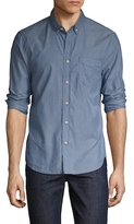 Joe's Jeans Cotton Slim Fit Chambray Sportshirt