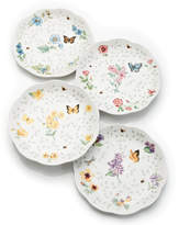 Lenox Dinnerware, Set of 4 Butterfly Meadow Petite Assorted Dessert Plates