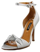 Kay Unger Conyer Open-toe Canvas Slingback Heel.