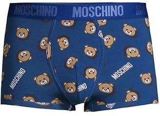 Moschino Allover Bear & Logo Briefs