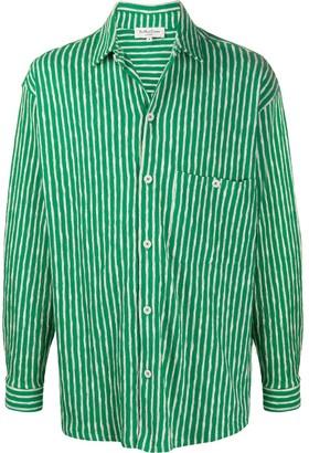 YMC Striped Knitted Shirt