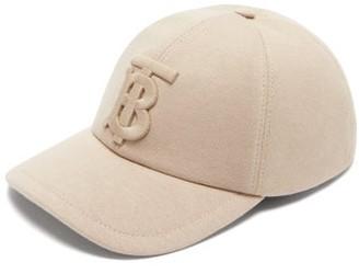 Burberry Tb Cotton-jersey Baseball Cap - Beige