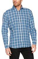 Otto Kern Men's Karo-Hemd, Slim Fit, 50503 / 13860 Casual Shirt,XL
