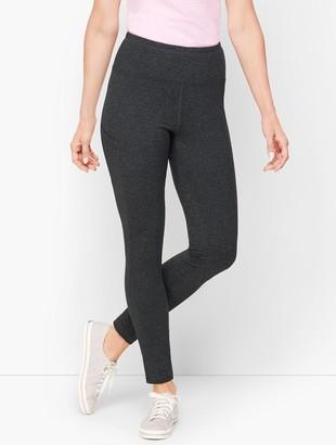 Talbots Textured Slip Pocket Leggings