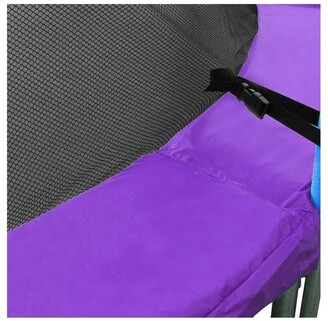 Kahuna Replacement Trampoline Pad Outdoor Round Spring Cover Purple 6ft