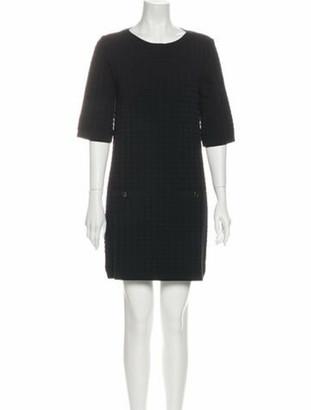 Chanel 2014 Mini Dress Black