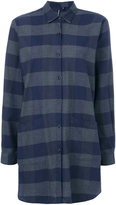 Woolrich oversized checked shirt - women - Cotton - XS