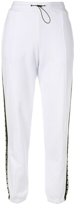 MSGM Contrast Stripe Track Pants