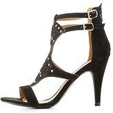 Charlotte Russe Qupid Embellished Laser Cut Dress Sandals