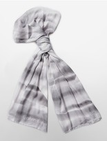 Calvin Klein Ombre Levels Print Scarf