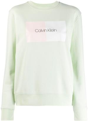 Calvin Klein Jeans logo printed sweatshirt