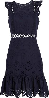 Sam Edelman Eyelet A-Line Dress
