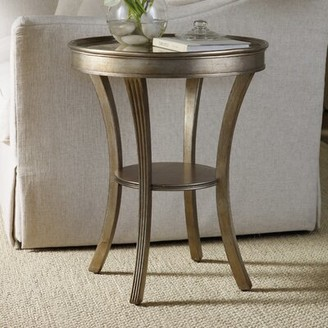 Hooker Furniture Sanctuary Tray Top End Table with Storage