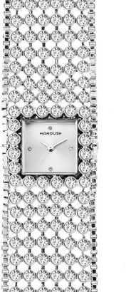 Manoush Unisex-Adult Analogue Classic Quartz Watch with Stainless Steel Strap MSHMAS