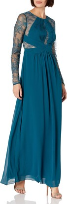 BCBGMAXAZRIA Azria Women's Janette Woven Evening Dress
