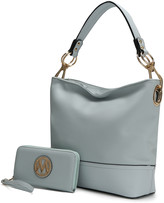 Mkf Collection By Mia K. MKF Collection by Mia K. Women's Hobos - Light Blue Magnolia Hobo & Wallet