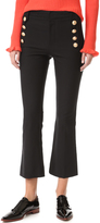 Derek Lam 10 Crosby Cropped Sailor Trousers