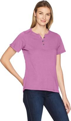 Wolverine Women's Lena Short Sleeve Henley T-Shirt