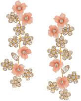 Jennifer Behr floral design earrings
