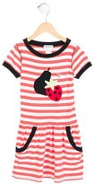 Sonia Rykiel Girls' Short Sleeve Striped Dress