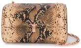 THE VOLON snakeskin-effect crossbody bag