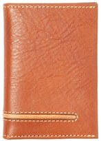 Tommy Bahama Men's Leather Money Clip Card Case - Brown