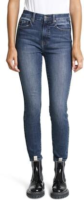 Pistola Denim Aline High Waist Ankle Skinny Jeans