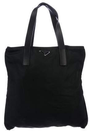 f801d02d3420f1 Prada Black Nylon Tote Bags - ShopStyle