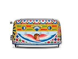 Smeg Tsf02Dgau Dolce & Gabbana Longslot Toaster