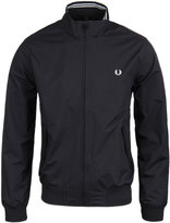 Fred Perry Brentham Black Zip Through Jacket