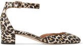 J.Crew Evelyn Leopard-print Leather Pumps - Leopard print