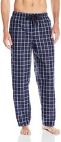 Perry Ellis Men's Woven Grid Plaid Sleep Pant