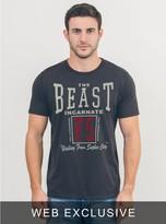 Junk Food Clothing Wwe The Beast Incarnate Tee-bkwa-xl