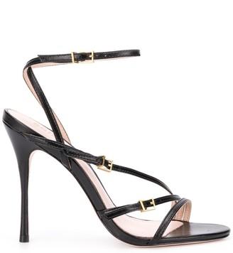 Schutz Open Toe Strappy Sandals
