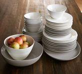 Pottery Barn Au Naturale 16-Piece Dinnerware Set, Light Grey