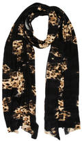 Blumarine Leopard Print Scarf