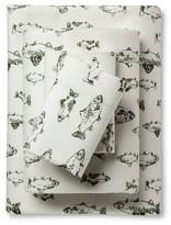 Eddie Bauer Flannel Sheet Set - School Of Fish